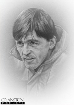 Kenny Dalglish MBE by Stephen Doig.