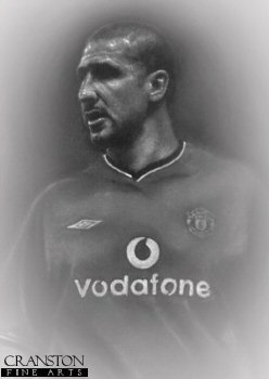 Eric Cantona - Manchester United Legend by Stephen Doig.