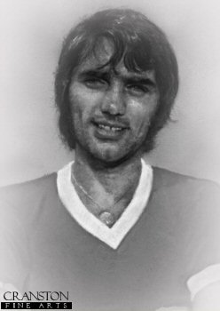 George Best - Manchester United by Stephen Doig.