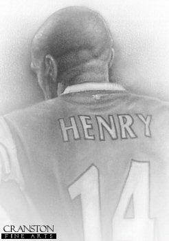 Thierry Henry by Stephen Doig.