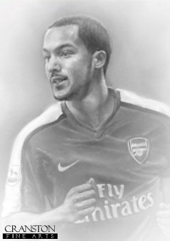 Theo Walcott - Arsenal by Stephen Doig.
