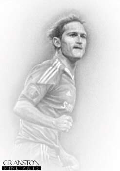 Frank Lampard by Stephen Doig.