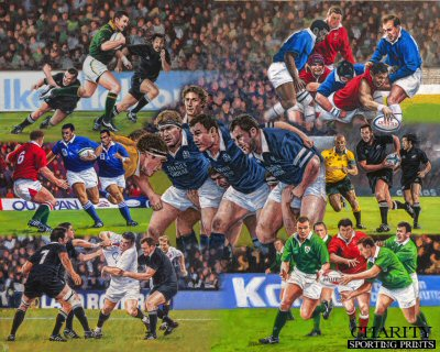 World of Rugby by David Pentland.