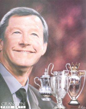 Sir Alex Ferguson by Darren Baker.