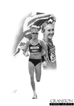 Paula Radcliffe by Darren Baker. (P)
