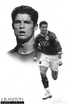 Ronaldo by Darren Baker. (P)