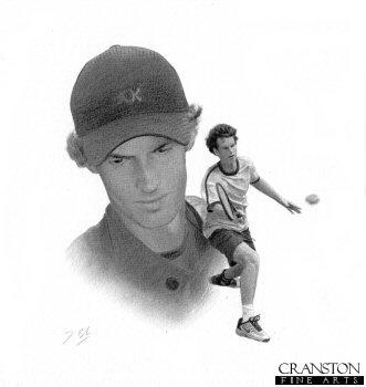 Andy Murray by Darren Baker. (P)
