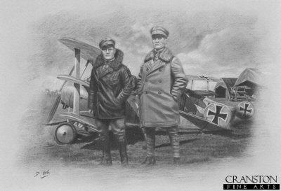 Manfred and Lothar von Richthofen by Darren Baker. (P)