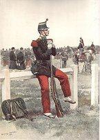 Infanterie de Ligne by Edouard Detaille. (P)