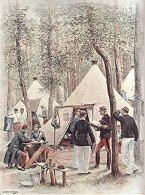 Infanterie de Ligne - Le Bureau du Sergent-Major by Edouard Detaille (P)