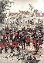 Cuirassiers - Tenue de Route, Marechal Ferrant by Edouard Detaille (P)