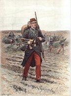 Infanterie de Ligne, Clairon - Tenue de Campaign by Edouard Detaille. (P)
