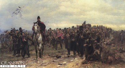 Return from Inkerman by Lady Elizabeth Butler. (GS)