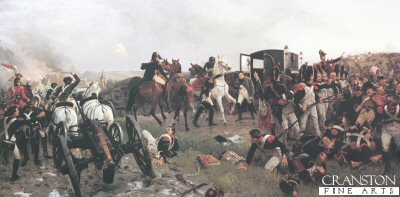 Evening of Waterloo by Ernest Crofts.
