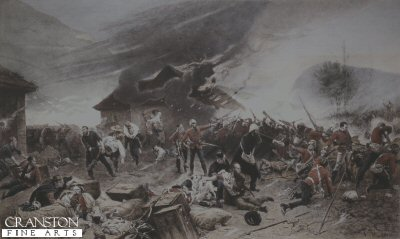 Defence of Rorkes Drift by Alphonse De Neuville. (B)