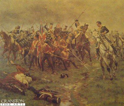 Battle of Albuhera by William Barnes Wollen.