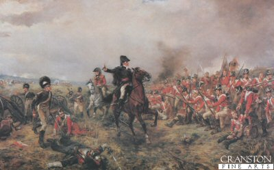 The Battle of Waterloo by Robert Hillingford.