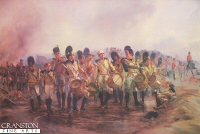 Steady the Drums and Fifes by Lady Elizabeth Butler.