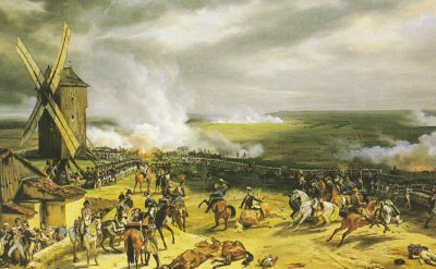 Battle of Valmy by Horace Vernet.