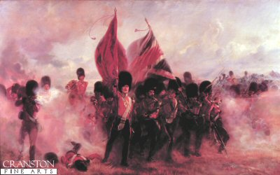 Scots Guards Saving the Colours at Alma by Lady Elizabeth Butler.
