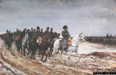 Napoleon on Campaign by Jean Louis Ernest Meissonier. (YB)