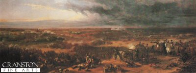 The Battle of Waterloo by Sir William Allen.