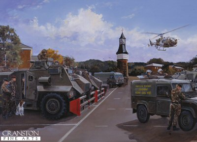 Deployment from Palace Barracks by David Pentland. (PC)