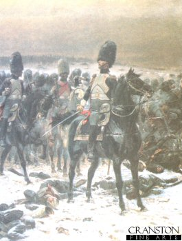 French Horse Guards by Edouard Detaille.
