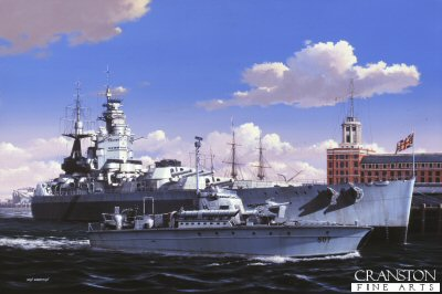 HMS Nelson by Ivan Berryman
