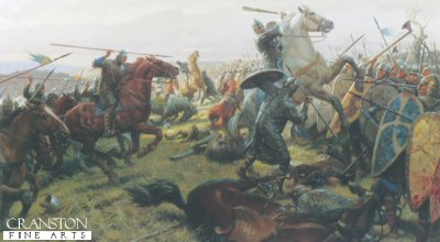 Battle of Hastings by Tom Lovell.