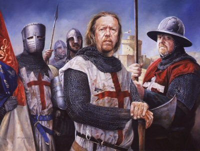 Richard I (The Lion Heart) During the 3rd Crusade by Chris Collingwood.