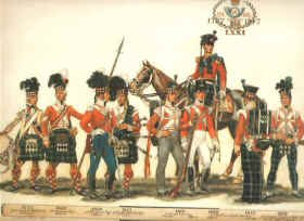 Uniforms of the 71st Light Infantry by Haswell Miller.