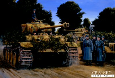 Rommel in Normandy, France, 2nd July 1944 by David Pentland.