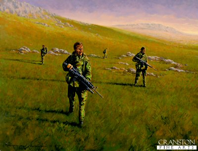 Is the Mountain Clear. G Squadron 22 SAS, Mount Kent, Falklands War 1982 by Graeme Lothian.