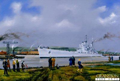 HMS Vanguard, Away the Vanguard by Randall Wilson.
