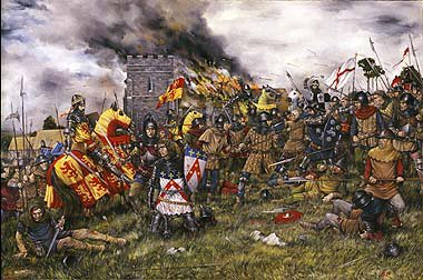 The Revolt of Owain Glyndwr. The Battle of Pilleth 22 June 1402 by Brian Palmer. (PC)