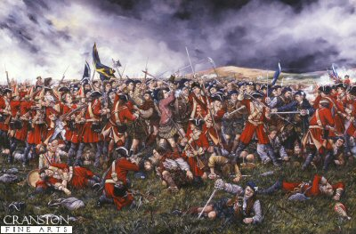 Battle of Culloden by Brian Palmer.
