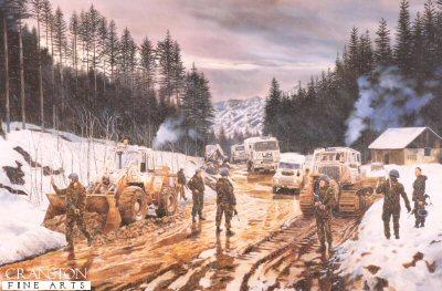 Royal Engineer Regiment by David Rowlands.