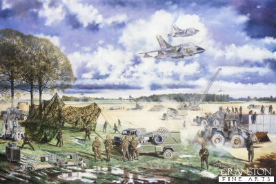 Air Support Sappers by David Rowlands.