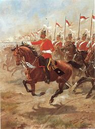 6th Inniskilling Dragoons by Harry Payne.