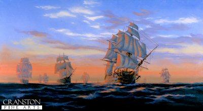 Trafalgar Dawn by Graeme Lothian.