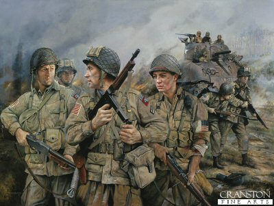 82nd Airborne by Chris Collingwood. (XX)
