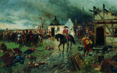 Wallenstein, A Scene From the Thirty Years War by Ernest Crofts