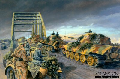 Finale at Arnhem, Holland, 24th September 1944 by David Pentland. (GL)