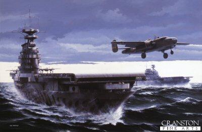 USS Hornet. Doolittles Raiders by Ivan Berryman.