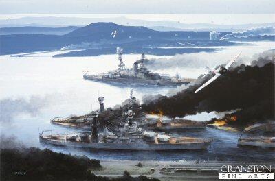 The Raid on Pearl Harbor, 7th December 1941 by Ivan Berryman