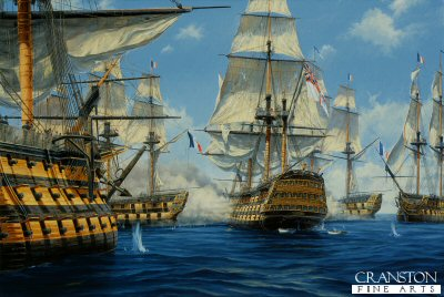 Nelsons Victory at Trafalgar by Anthony Saunders (AP)