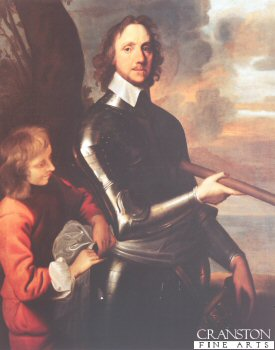 Portrait of Oliver Cromwell by Robert Walker (GL)