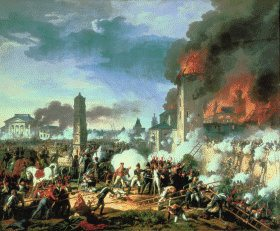 Storming of the Ratisbon by Charles Thevenin.