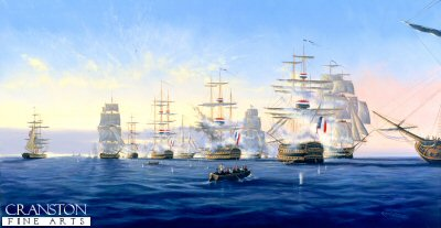 Admiral Nelsons Victory at the Battle of the Nile by Graeme Lothian.
